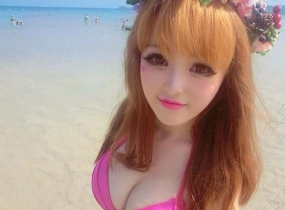 A Chinese Girl is A Real-Life Barbie Doll Photo Gallery Online